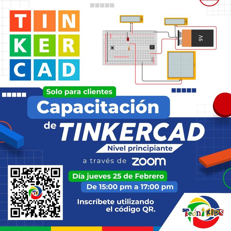 Capacitación de TinkerCAD